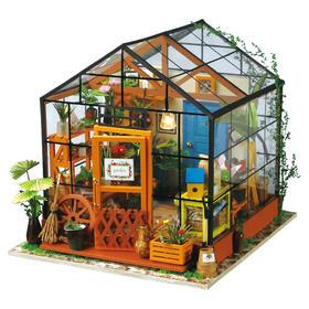木质DIY系列:立体小屋丨八音盒丨动物&机械