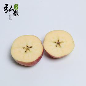 【弘毅六不用生态农场】六不用富士苹果,丑苹果 自然熟 好口感 可带皮吃 4斤/份