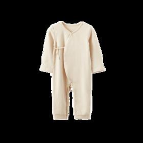 彩棉长袖连体衣(婴童)