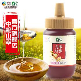 中粮山萃龙眼蜂蜜375g瓶装