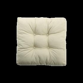 帆布丝羽绒多用坐垫