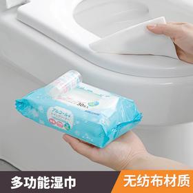 日本进口马桶湿纸巾便圈消毒湿巾出差旅游卫浴清洁包洁厕湿纸巾