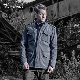 蝰蛇VIPERADE M65风衣 户外休闲男式保暖抓绒衣外套 软壳冲锋衣男