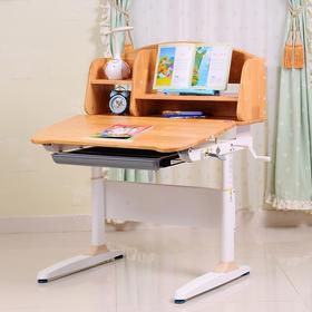 护眼博士  Y908实木写字桌 手摇升降儿童学习桌