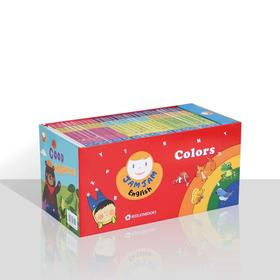 JAMJAM English Colors(30本套装)果酱英语
