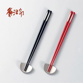 【月之水滴】粂治郎日本越前漆器 夫妻筷对筷