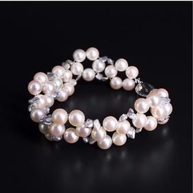 【IRIS-SPIRA】日本akoya珍珠手链公主手链 无调色阿古屋珍珠天然珍珠