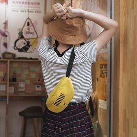 潮炫彩色腰包男女通用  时尚小包  文具