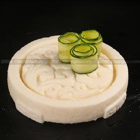 创意盘模  【园形盘模】可以制作盐焗盘、鱼冻、巧克力盘、冰砖盘、即时盘子又是美食!