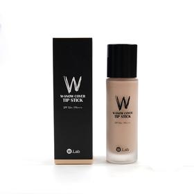 【推荐】韩国w.lab wlab超模美颜粉底液持久不脱妆遮瑕平价版DW粉底液40ml