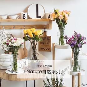 4束仅需99元,Nature自然系列 | Mix版,新用户送花瓶,单品 & 混合花束,轮流发送,品种随机。