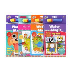 英国GALT水魔力儿童涂鸦本 可重复使用 不脏手