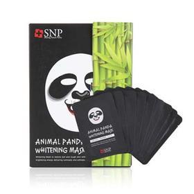 韩国SNP动物面膜贴一盒装 熊猫白皙动物面膜10片一盒