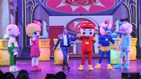 10月儿童剧献礼《猪猪侠之时间去哪儿》六折售票!外籍演员倾力放送!