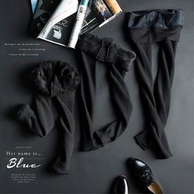 【锁温37℃,犹如将空调穿在身上】日本男式考拉绒保暖裤 加绒加厚 秋冬纯棉 黑色棉裤秋裤 均码