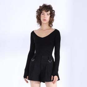 SYUSYUHAN设计师品牌 黑色西装短裤