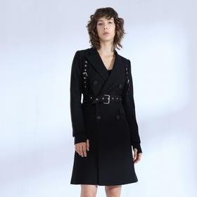 SYUSYUHAN设计师品牌 日本进口高端面料合体剪裁长款帅气西装限量