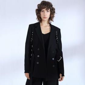 SYUSYUHAN设计师品牌 日本进口高端挺括面料男友风腰带西装限量