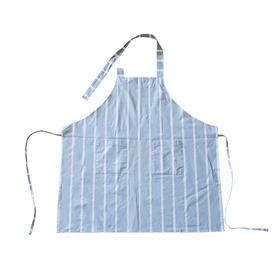 Slowly 流年蓝白条纹防水围裙