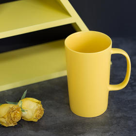 Mono 言色哑光釉黄色马克杯