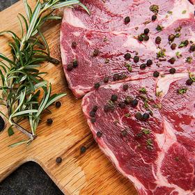 哈桑清真澳洲牛排 家庭套餐150g*6片/盒  超值套餐150g*10片/盒 下单即送相应数量的黑胡椒牛排酱 配套植物黄油
