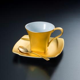 【无垢】金箔咖啡杯
