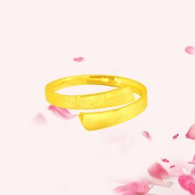 简烁 足金戒指