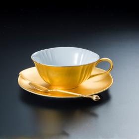 【无垢】金箔红茶杯