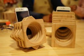 木艺课-上海站-不插电手机音箱