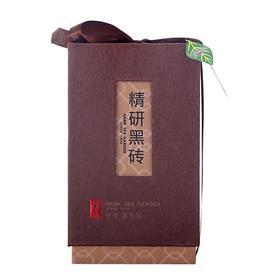 中茶黑茶园安化精研黑砖坨礼盒