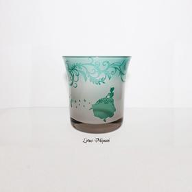 【午夜公主酒杯】限量手工雕花玻璃酒杯酒盅蜡烛杯