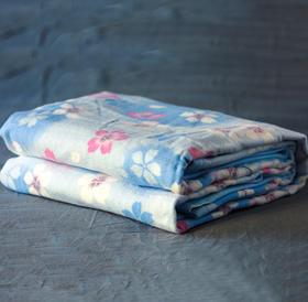 日本森田 MORITA 电热毯,全棉不干燥可水洗,除螨+保湿!辐射低,孩子也能放心用!头温足暖,智能温控,液晶显示