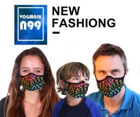 美国品牌 VOGMASK过滤式防PM2.5微粒口罩 可水洗口罩(母婴适用)