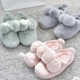 【包邮】韩版可爱保暖棉拖多色可选   文具