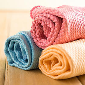 【一擦就净,不掉毛】出口韩国 神奇不掉毛厨房抹布,吸水强、易清洁 买6条立减10元