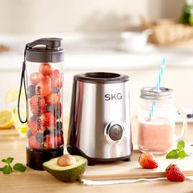 skg1818便携式榨汁机 不锈钢机身 tritan材质杯体 多功能