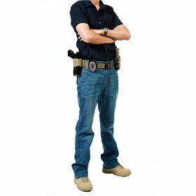 美国BMT战术牛仔裤    牛仔蓝