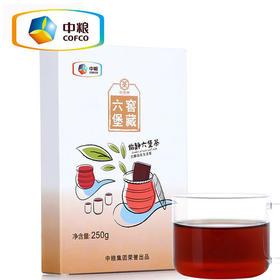 中茶六堡茶 怡静六堡茶250g 六堡茶砖 茶叶