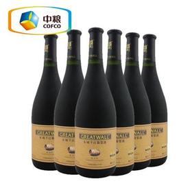 长城干红葡萄酒金标蛇龙珠6支整箱装 新品上线