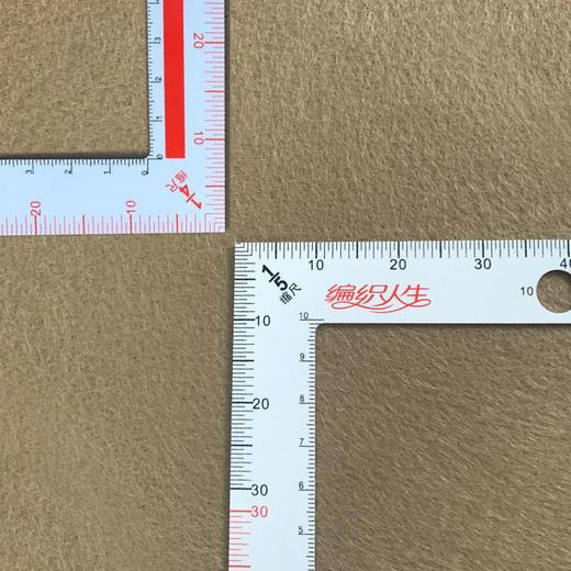 毛衣密度尺 编织人生定制 测量编织密度和针号 有视频使用方法 商品图1