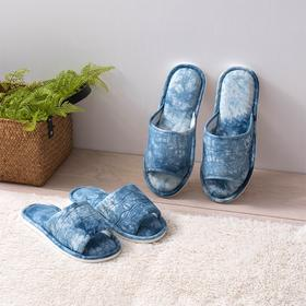 NACASA 每一双都独一无二 天然草木扎染居家拖鞋