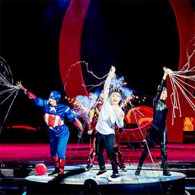 国内首创大型魔幻亲子剧:魔术与卡通偶像相遇,给孩子不一样的视觉体验!