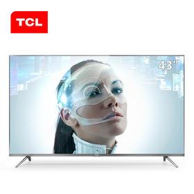 TCL  43A730U 43英寸4K超薄64位 高色域HDR智能液晶平板电视
