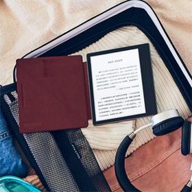 Kindle Oasis立式真皮保护套(2017全新版)