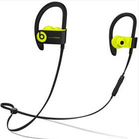 Beats Powerbeats3 by Dr. Dre Wireless 入耳式耳机 - 荧光黄 MNN02PAA