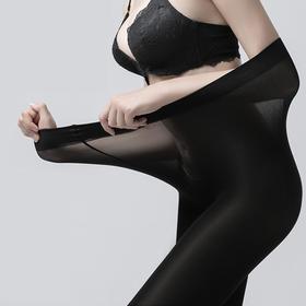 200斤MM都能穿的丝绸蛋白深透润肤智能大小裤头加裆加大裤袜BZW8310