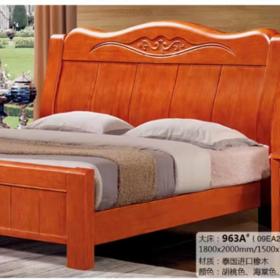 963实木床架(泰国进口橡木)