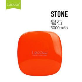 Lepow乐泡磐石 品牌充电宝手机通用小巧可爱迷你移动电源6000毫安 甜心橙