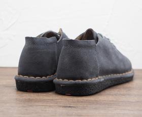男士系带极简英伦平底休闲鞋