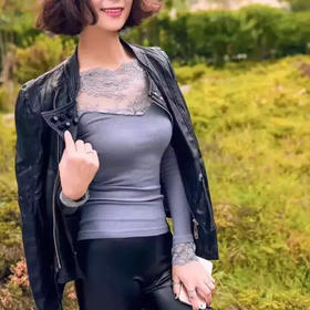 韩国 Let's Diet 恒温塑身保暖内衣,修身显瘦版型,优质蕾丝,外穿打底穿出好身材